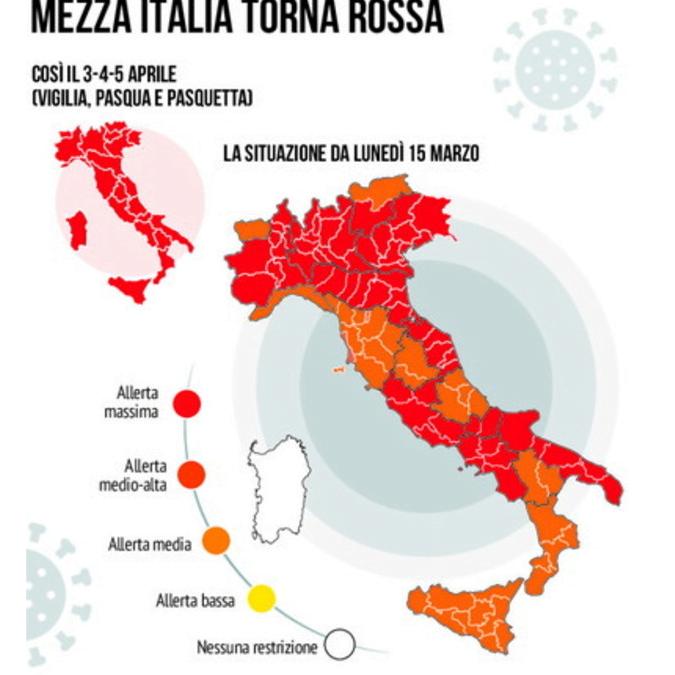 """TERZA ONDATA, MENTRE MEZZA ITALIA TORNA ROSSA … IN FILIALE L'EMERGENZA E':  """"URGENTE: Emissione Mediobanca da lunedì 15 marzo"""""""